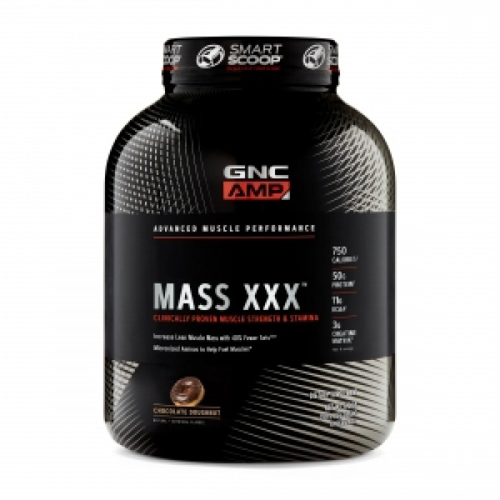 AMP Amplified MASS XXX cu aroma de gogoasa cu ciocolata (2812 grame), GNC PRO PERFORMANCE
