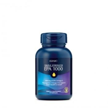 TRIPLE STRENGTH EPA 1000 mg (45 capsule gelatinoase), GNC