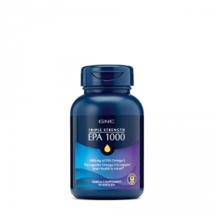 TRIPLE STRENGTH EPA 1000 mg (90 capsule gelatinoase), GNC