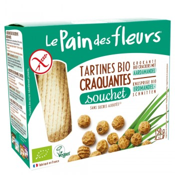 Turte crocante cu alune tigrate- fara gluten (150g), Le Pain Des Fleurs