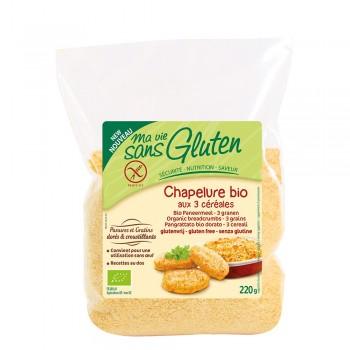 Pesmet din trei cereale - fara gluten (220g), Ma vie sans gluten