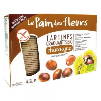 Turte crocante cu castane fara gluten (300g), Le Pain Des Fleurs