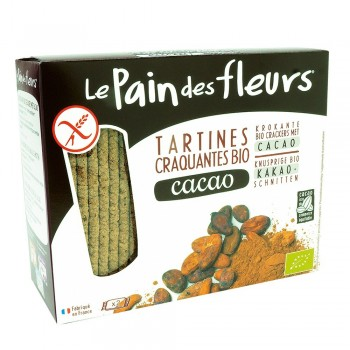 Turte crocante cu cacao - fara gluten (150g), Le Pain Des Fleurs