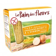Turte crocante cu ceapa - fara gluten (150g), Le Pain Des Fleurs