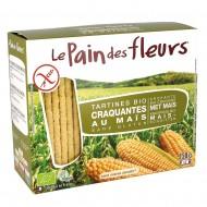 Turte crocante din porumb si orez - fara gluten (150g), Le Pain Des Fleurs