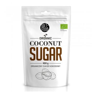 Zahar din cocos bio (400g), Diet-Food
