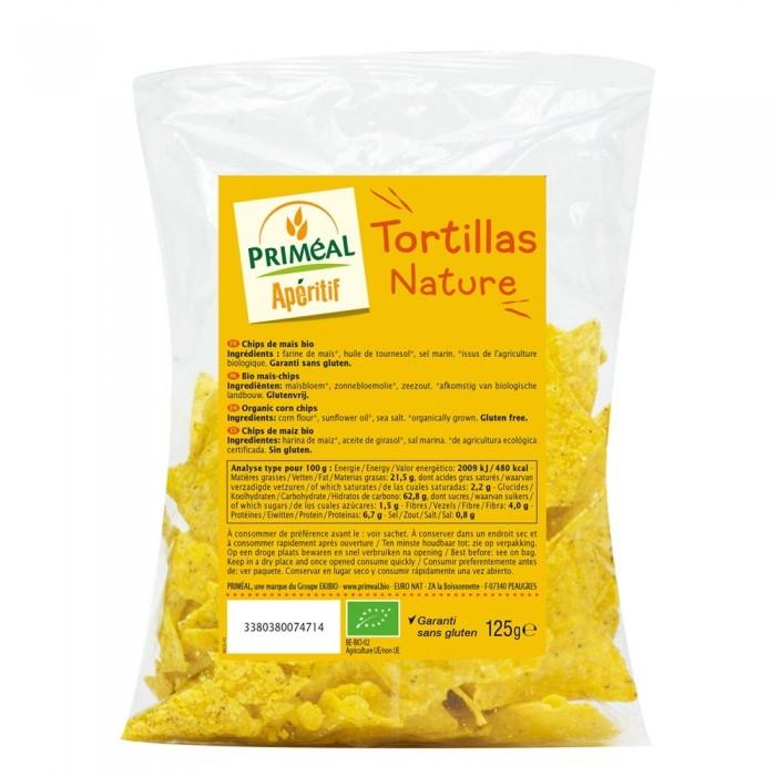 Chipsuri tortila nature fara gluten (125g), Primeal