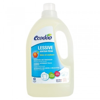 Detergent bio rufe cu aroma de piersici (1,5 L), Ecodoo