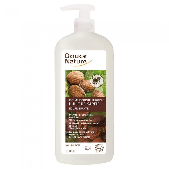 Gel de dus crema cu ulei de shea fara sulfati (1L), Douce Nature