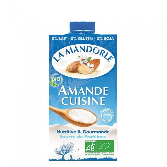 Smantana vegetala de migdale (25ml), La Mandorle