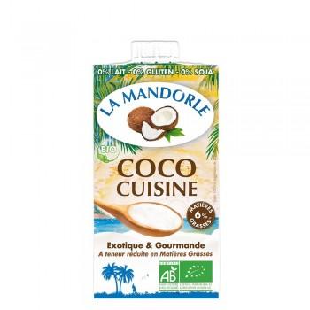 Smantana vegetala de cocos (25ml), La Mandorle
