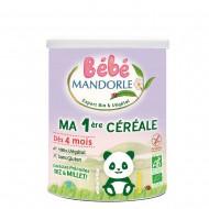 Cereale pentru bebelusi - de la 4 luni (400g), Bebe Mandorle