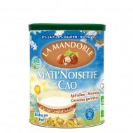 Mic dejun instant cu alune si cacao (400g), La Mandorle