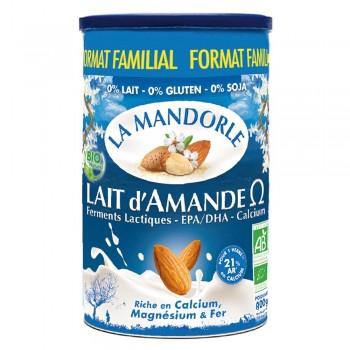 Lapte praf de migdale - Omega 3 - format familial (800g), La Mandorle