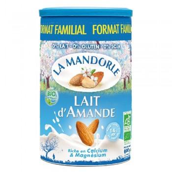 Lapte praf de migdale - format familial (800g), La Mandorle