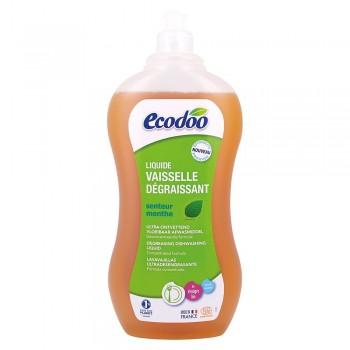 Detergent bio vase ultradegresant cu otet si menta (1L), Ecodoo