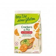 Crackers din orez cu ardei dulce- fara gluten (40g), Ma vie sans gluten