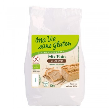 Amestec pentru paine cu hrisca fara gluten (500g), Ma vie sans gluten