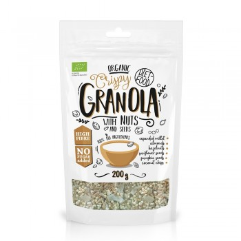 Granola bio cu nuci (200g), Diet-Food
