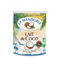 Lapte praf de cocos - (400g), La Mandorle