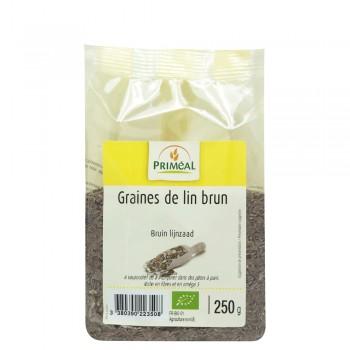 Seminte de in brun (250g), Primeal