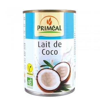 Lapte de cocos bio (400ml), Primeal