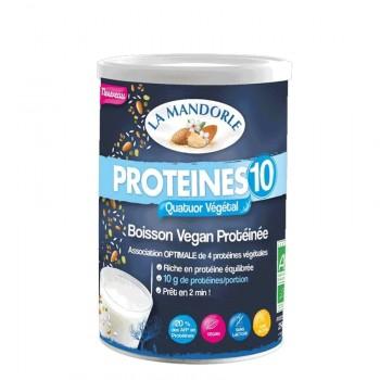 Bautura vegana instant Protein 10    (250g), La Mandorle