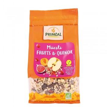 Musli cu quinoa si fructe (350g), Primeal