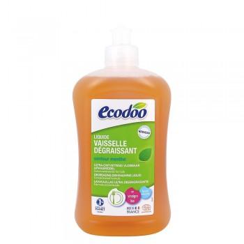 Detergent bio vase ultradegresant cu otet si menta (500ml), Ecodoo