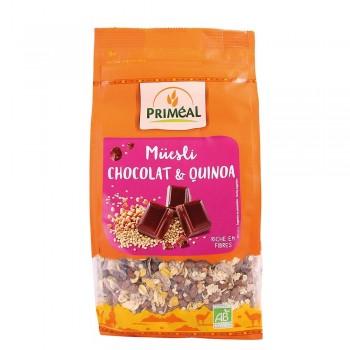 Musli bio cu quinoa si ciocolata (350g), Primeal