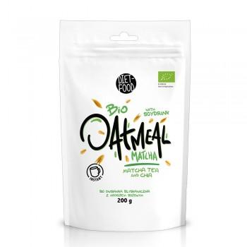 Porridge instant din ovaz cu matcha (200g), Diet-Food