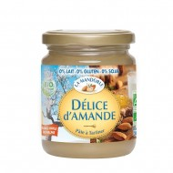 Crema tartinabila de migdale fara gluten, lapte, soia (300g), La Mandorle