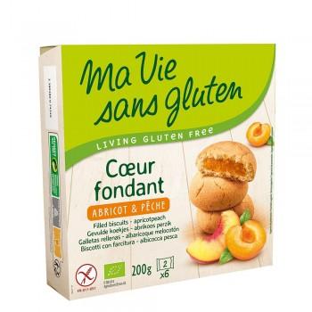 Biscuiti fara gluten cu crema de caise (200g), Ma vie sans gluten