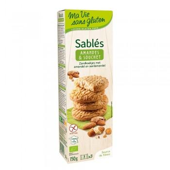 Biscuiti fara gluten cu migdale si alune tigrate (150g), Ma vie sans gluten