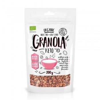 Granola bio Keto (200g), Diet-Food