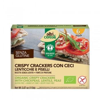 Crackersi crocanti din faina de leguminoase - fara gluten (150g), Probios