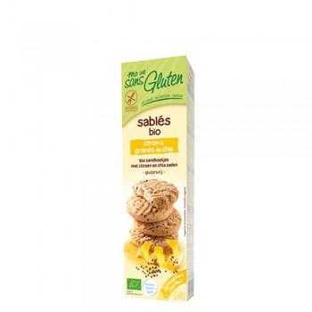 Biscuiti fara gluten cu lamaie si chia (150g), Ma vie sans gluten
