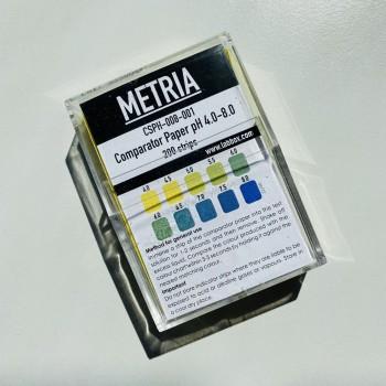 Benzi testare pH 4-8 (200 benzi), Metria