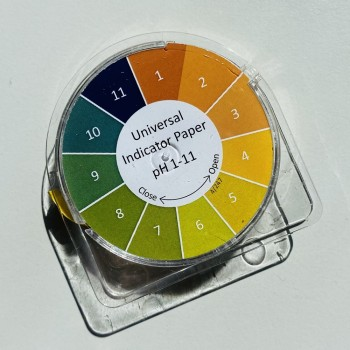 Rolă hârtie pH 1-11 (5metri), Metria
