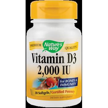 Vitamin D3 2000UI (30 capsule)