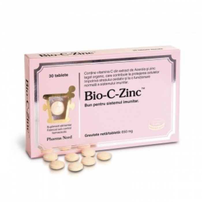 Bio-C-Zinc (30 tablete), Pharma Nord