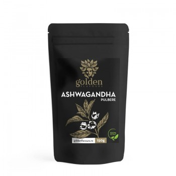Ashwagandha pulbere 100% naturala (150 grame), Golden Flavours