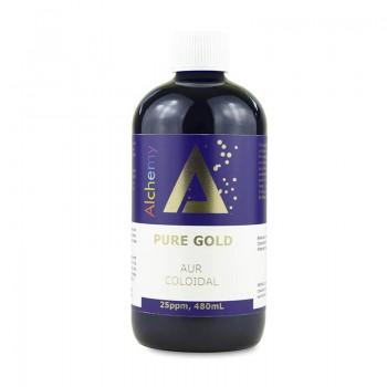 Aur coloidal Pure Gold 25ppm (480 ml), Pure Alchemy