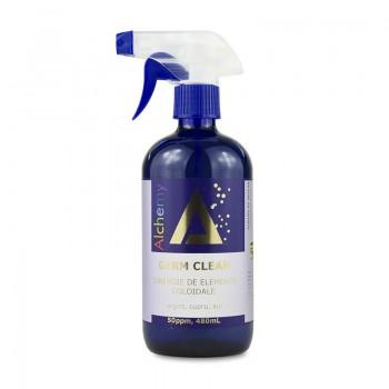 Germ Clean Sinergie de argint, cupru si aur coloidal 50ppm (480 ml), Pure Alchemy