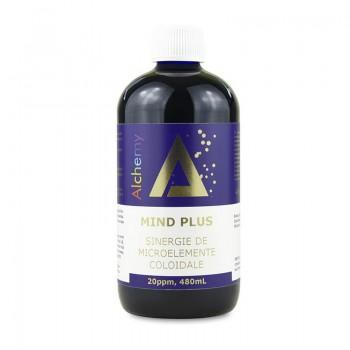 Mind Plus Sinergie de argint, platina si aur coloidal 20ppm (480 ml), Pure Alchemy