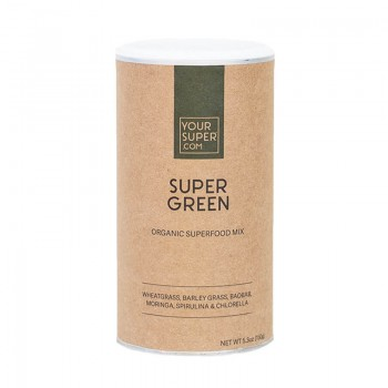 Super Green Organic Superfood Mix (150 grame), Your Super