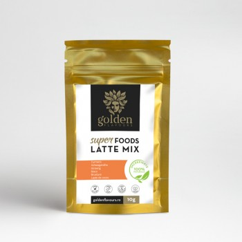 Superfoods Latte Mix (10 grame), Golden Flavours