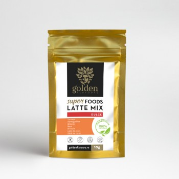 Superfoods Latte Mix Dulce (10 grame), Golden Flavours