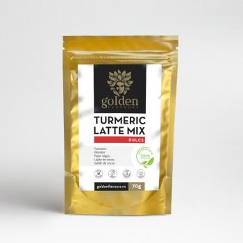 Turmeric Latte Mix Dulce (70 grame), Golden Flavours