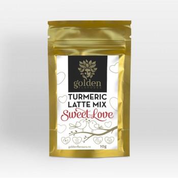 Turmeric Latte Mix Sweet Love (10 grame), Golden Flavours